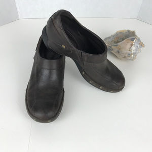 Women's Merrell size 7.5 leather mules